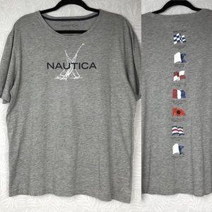 NAUTICA graphic tee flag definitions sailing AI23
